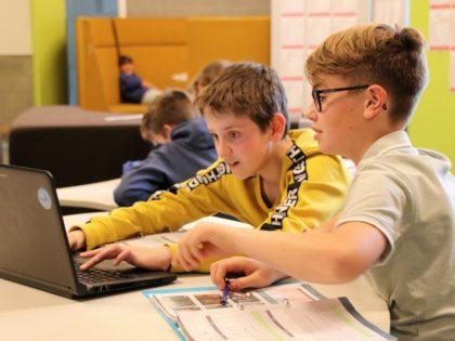 Met een laptop daag je leerlingen extra uit!