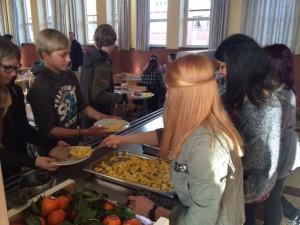 Fairtrade ontbijt leerlingenraad
