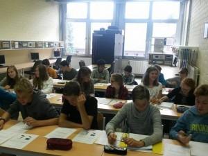 STEM-leerlingen in actie!