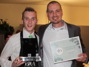 Leerling hotelschool Turnhout wint koffiewedstrijd