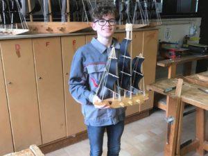 Zeilboot bouwen