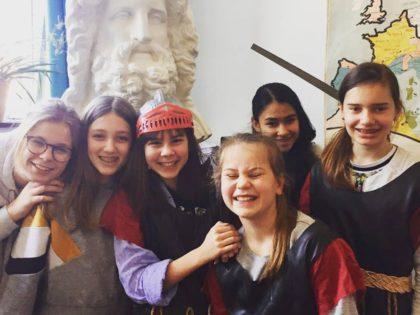 Leerlingen Latijn op ontdekkingstocht doorheen Romeinse cultuur