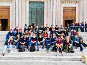 Zesdejaars op Italiëreis