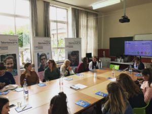 Studenten en docenten Thomas More op bezoek
