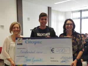 Jesse wint grafische wedstrijd stad Turnhout!