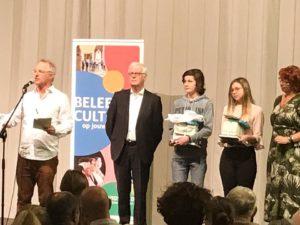 Mila en Victor (4ASO) winnen Junior Journalist wedstrijd!