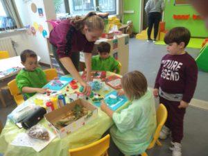 5 en 6 Verzorging organiseren ateliers voor kleuters