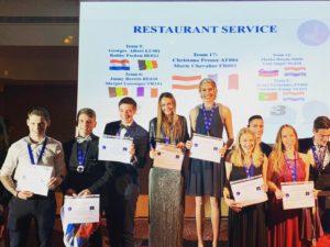 Leerling hotelschool scoort in Kroatië